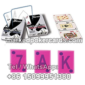 Fournier Poker Vision Casino Cheat Cards for Omaha