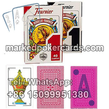 Fournier No.1 Poker Cheat Cards