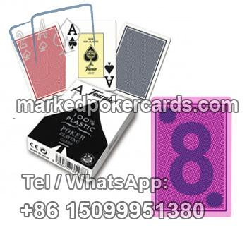 Invisible Ink Marked Fournier 2800 Poker Cards