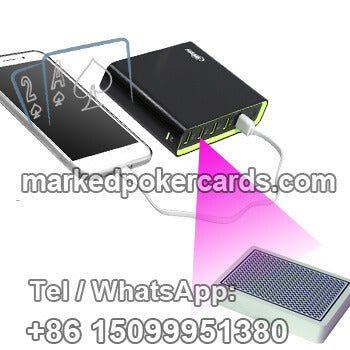 Mobil Power Bank Poker Playing Cards Scanner
