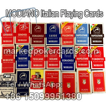 MODIANO Piacentine Italian marked cards