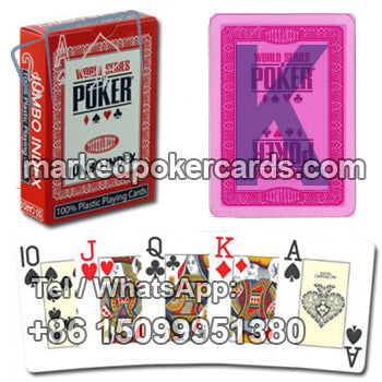 Gamble Tricks Cards Modiano WSOP