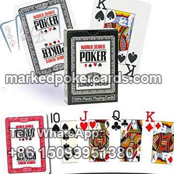 Modiano WSOP gambling trick card