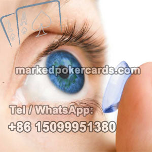 cheating cards contact lenses