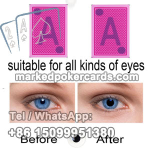 Cheating cards lenses