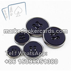 Clothes Button Barcode Cards Reader for Texas Holdem