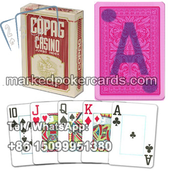 Casino poker cheat cards