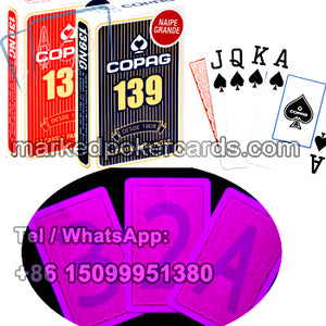 copag marked magic cards for poker cheat