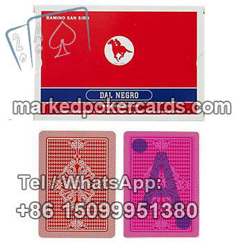 Dal Negro San Siro Invisible Playing Cards Cheat