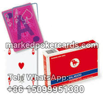 Dal Negro San Siro Invisible Playing Cards Cheat for Baccarat
