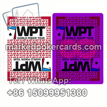 Invisible Ink Marked Fournier WPT Cheating Cards