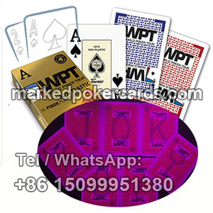 Fournier WPT Invisible Ink Marked Cheating Cards