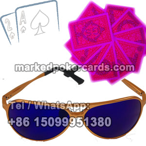 Luminous Ink Poker Glasses