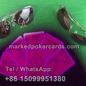 marked cards poker glasses