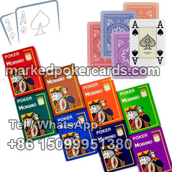 Modiano Cristallo poker marking cards