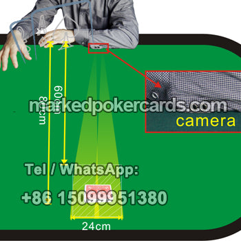 Cuff Poker Scanning Camera For Marked Playing Cards