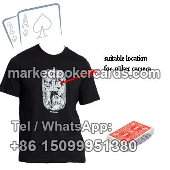 T-shirt Wide Dynamic Poker Cards Scanner Camera