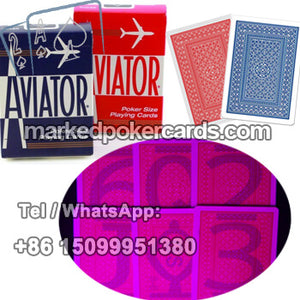 Aviator marked playing cards