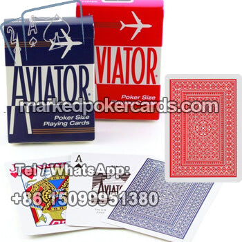 buy aviator playing cards poker
