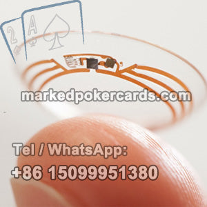 Perspective contact lenses poker