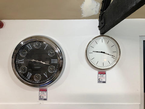 Various Wall Clocks