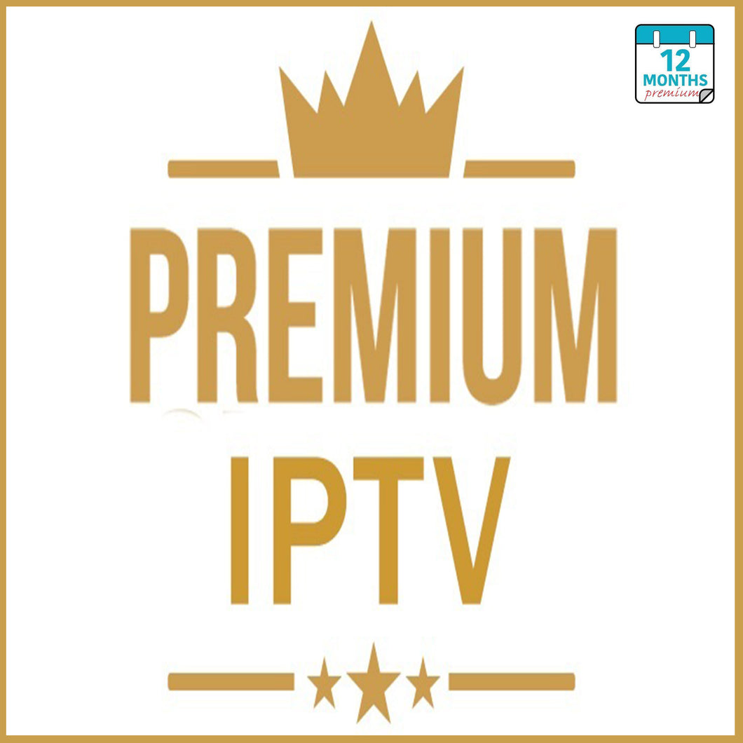 IPTV PREMIUM SUBSCRIPTION