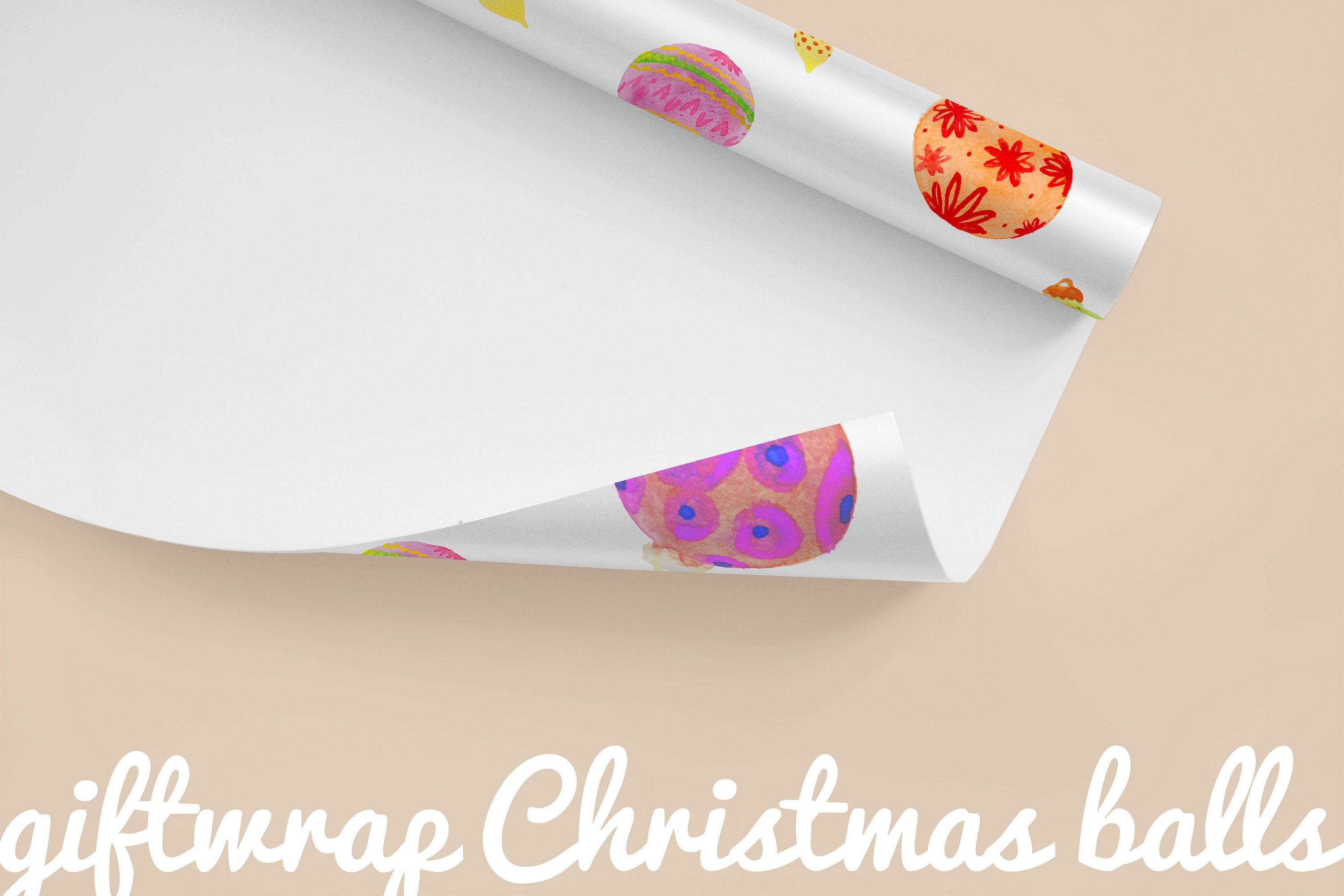 Large Format Wrapping Paper Sheet - Gift Wrap -Different Models - 50x70cm