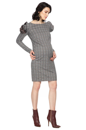 Capri Check Body-Con Dress