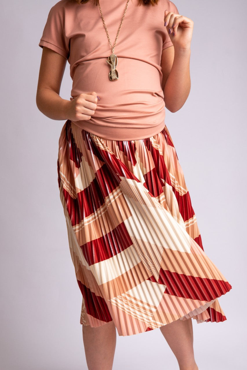 Elke Pleated Skirt