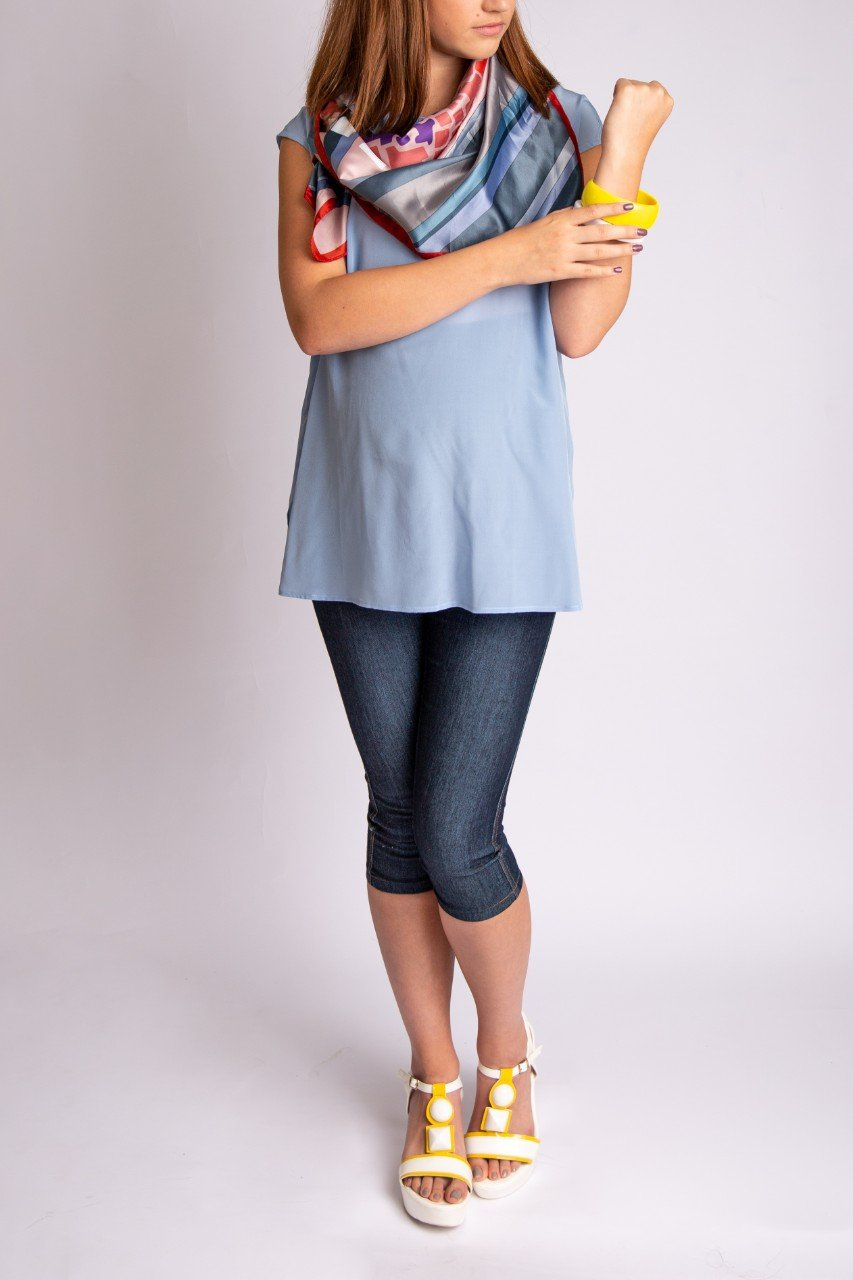 Essential Silk Maternity Top