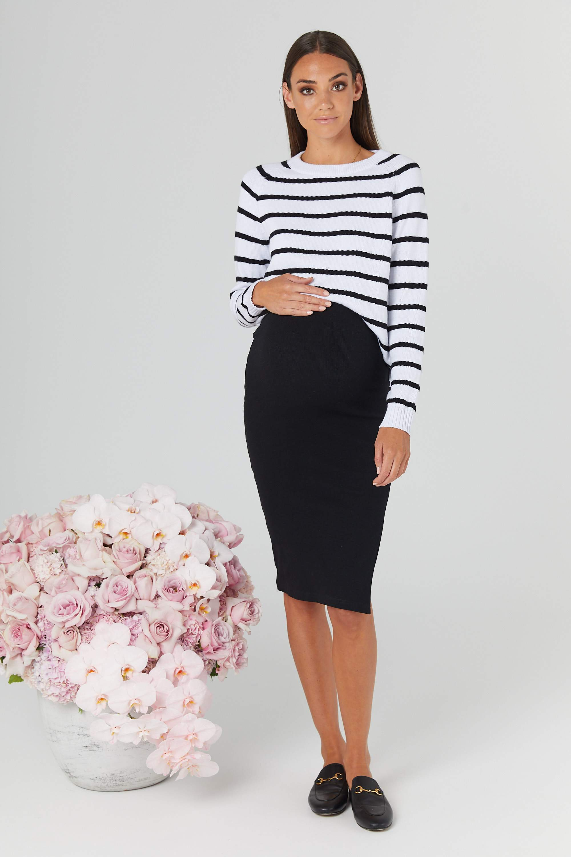 Essential London Pencil Skirt