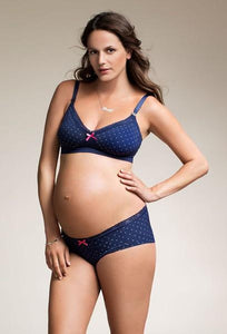 Fast Food Dotted Maternity/Nursing Bra