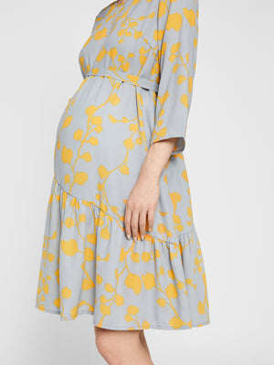 Mikira Blossom Print Dress