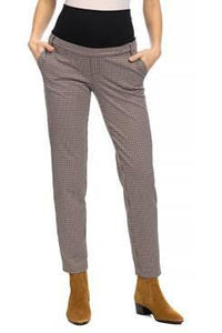 Harri Check Maternity Pants