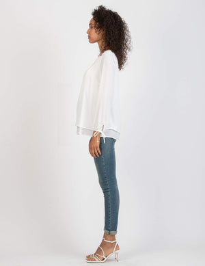 Jay Layered Maternity and Nursing Top