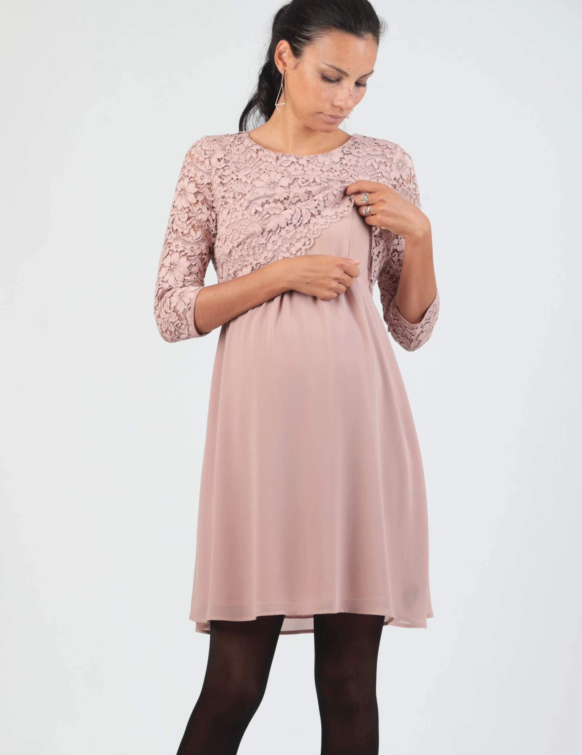 Elouise Lace Dress - Short