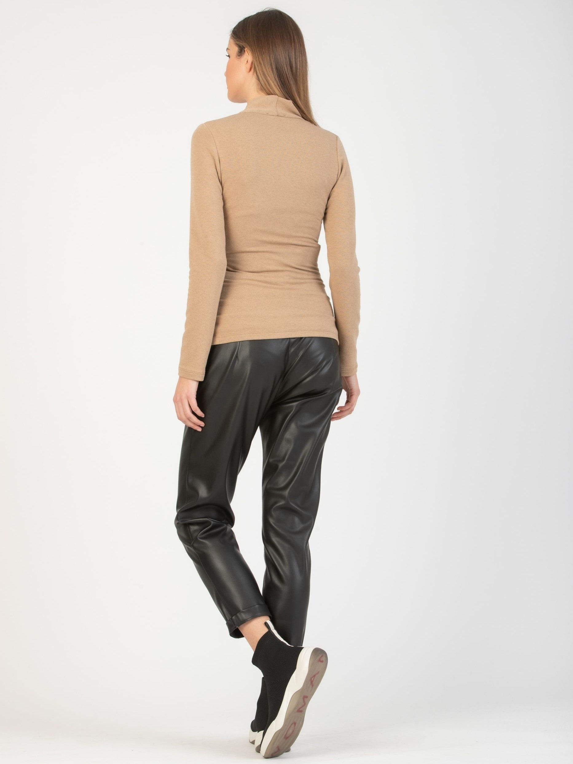Juno Faux Leather Relaxed fit Pants