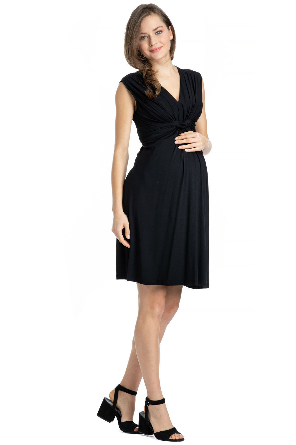 Papaver Dress, Black
