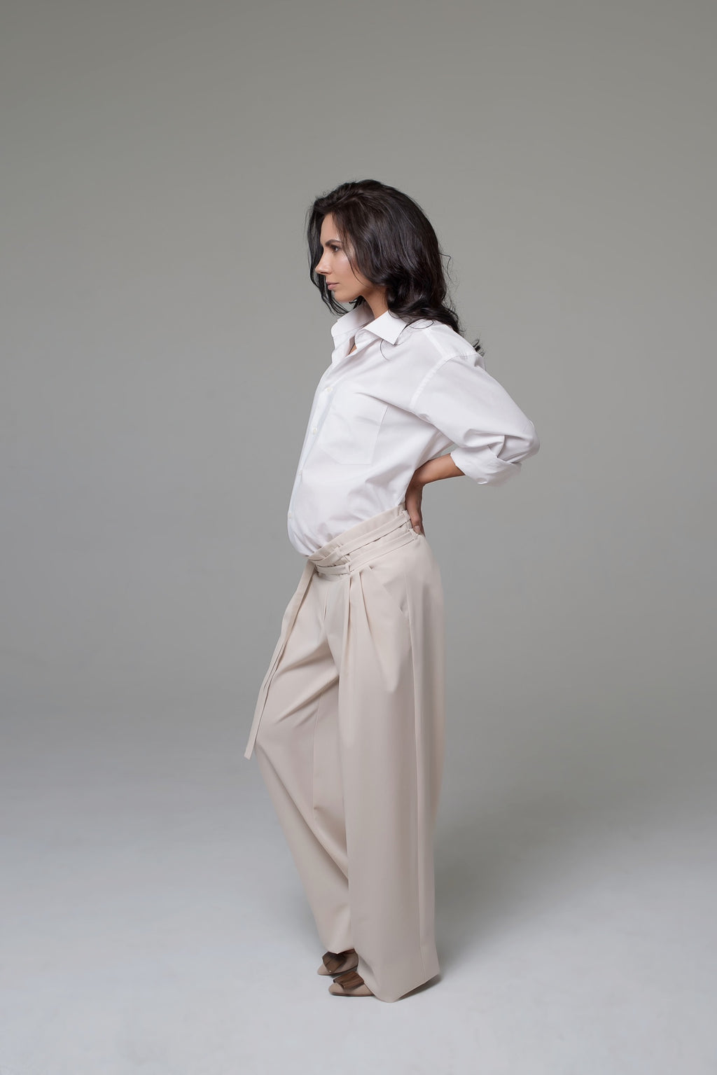 Paris Wide-Leg Trousers