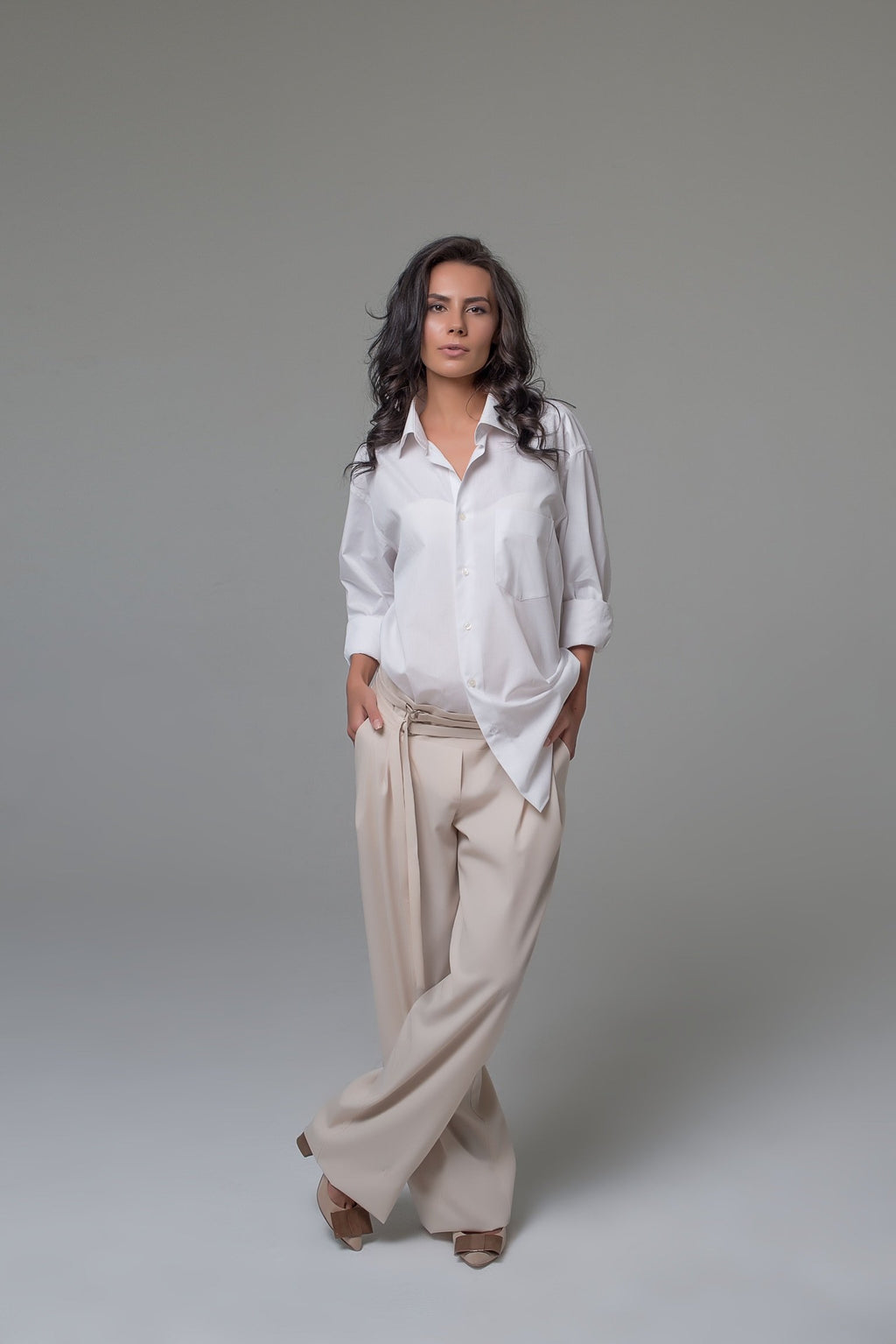 Paris Wide-Leg  Soft Trousers
