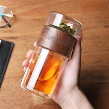 Load image into Gallery viewer, Portable Glass Tea Infuser