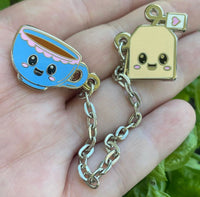 Tea Friends Hard Enamel Pin Set