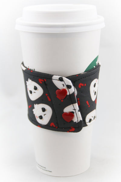 Steamed Bun Coffee Cup Cozy