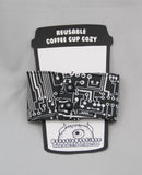 Circuits Coffee Cup Cozy