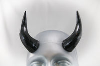 Arch Demon Cast Resin Horns