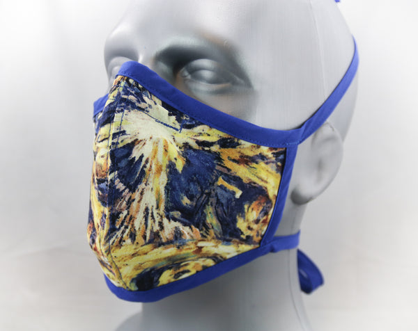 Time Machine Fitted Fashion Face Mask
