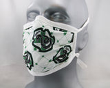 Snake Tie-Back Fashion Face Mask