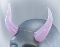 Lilac Specialty Color Cast Resin Horns
