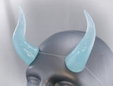 Pastel Blue Specialty Color Cast Resin Horns