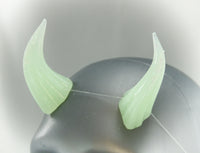 Mint Green Specialty Color Cast Resin Horns